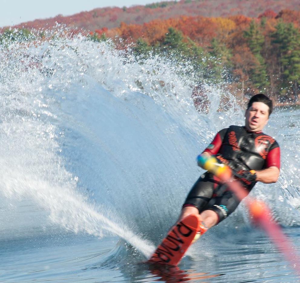 Slalom Water Ski, Webster, MA Nipmuc Ski Club