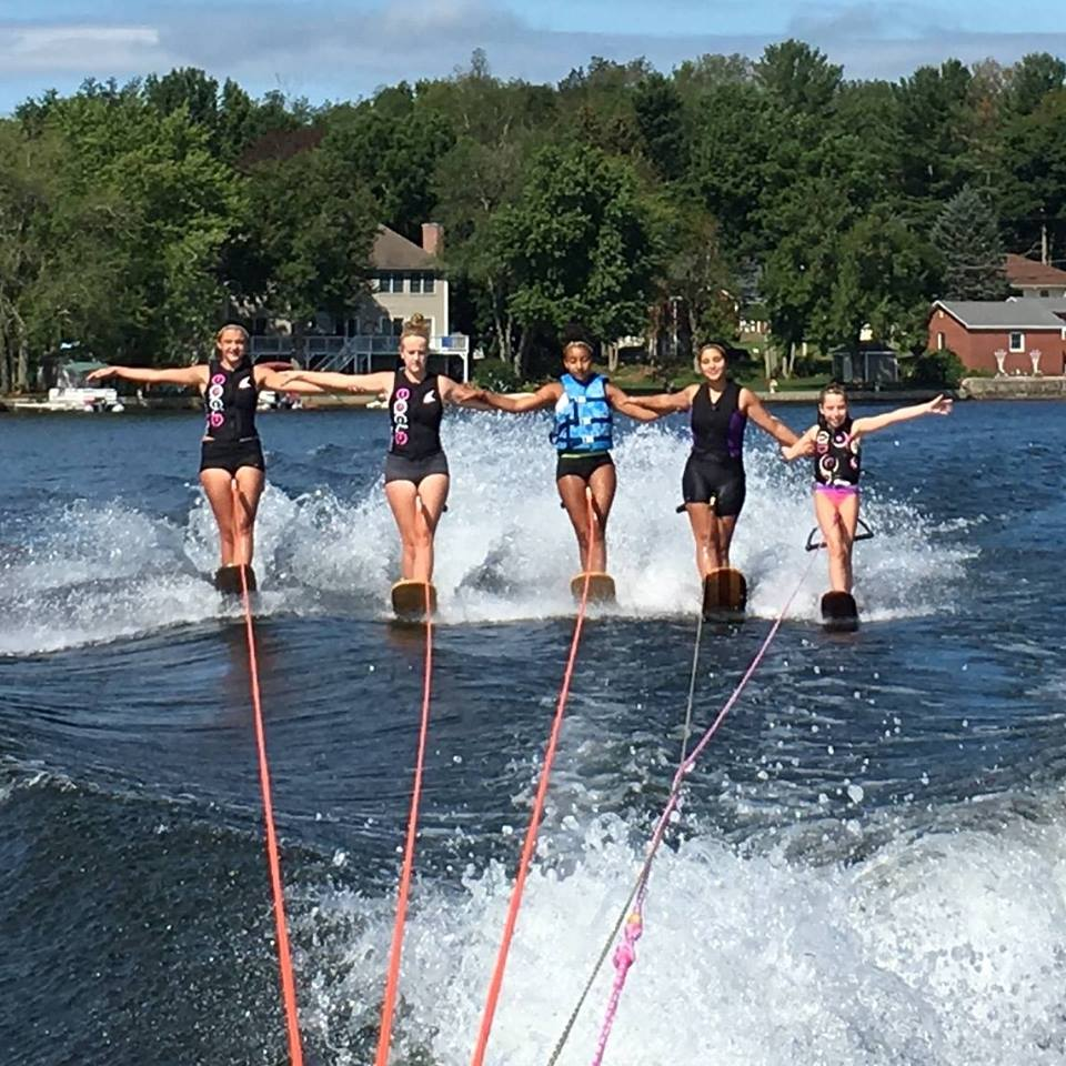 Learn to Ballet Water Ski, Nipmuc Water Ski Club