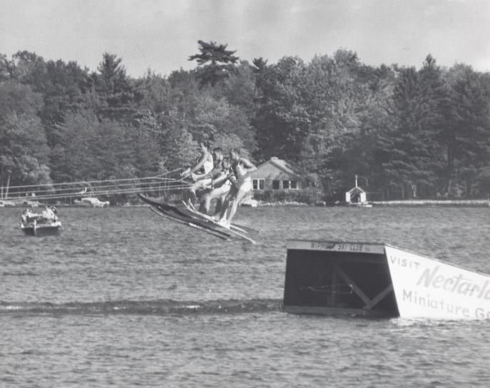 Webster, Ma Water Ski Jump