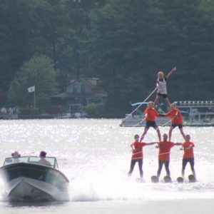 3 Tier Water Ski Pyramid