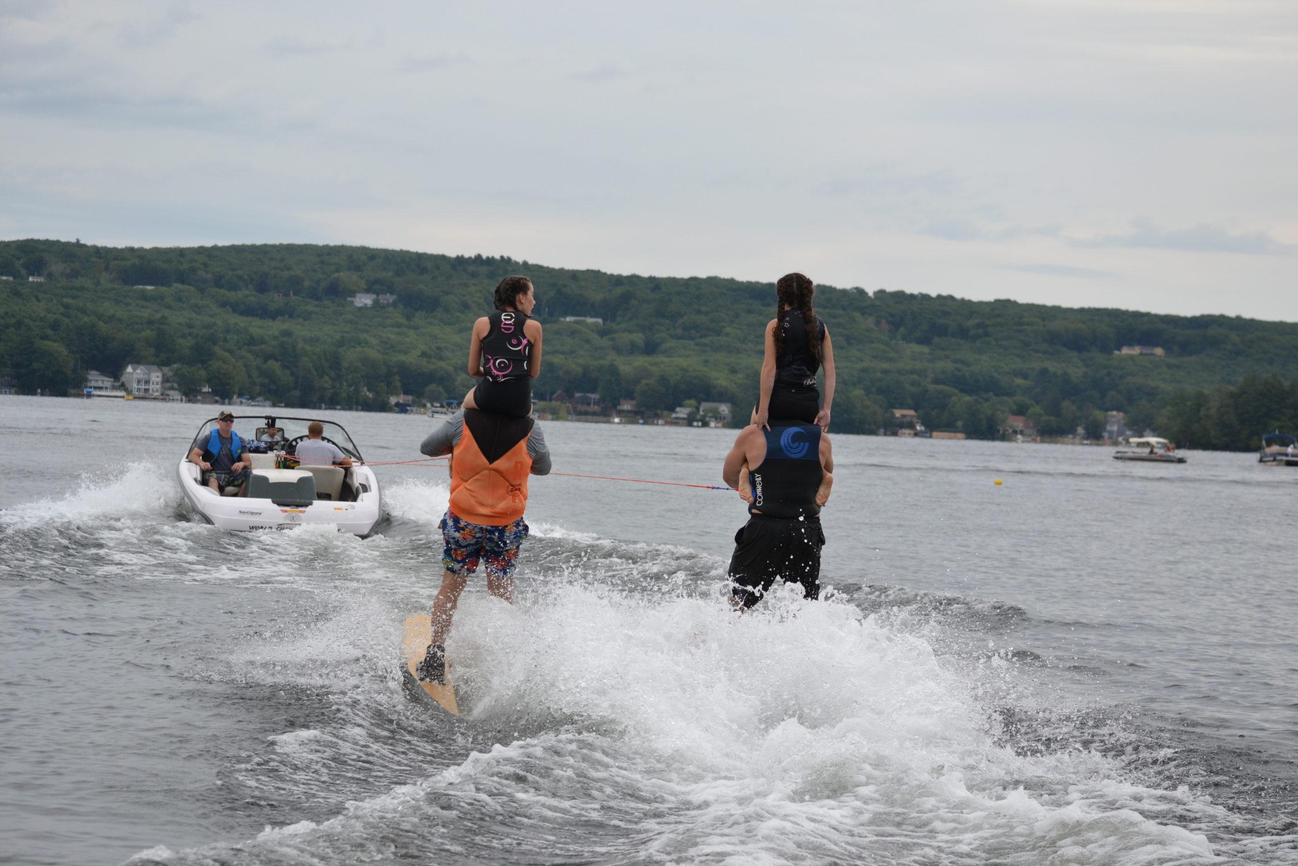 2018 Water Ski Show Nipmuc Ski Club, Webster, MA